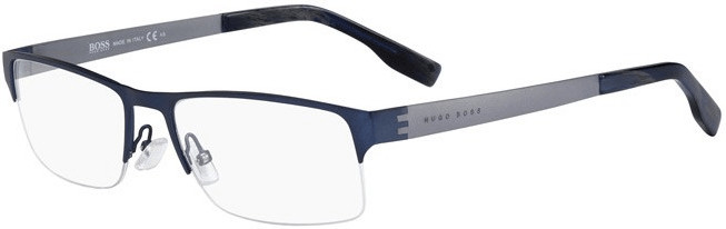 Hugo Boss 0515 ALE (matt blue/matt ruthenium)