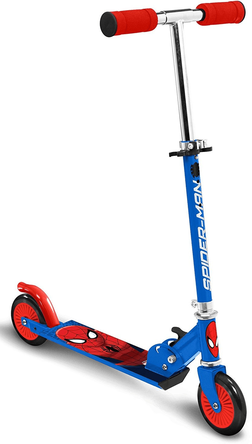 Stamp Scooter Spider Man