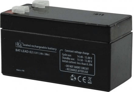Image of HQ 12V 1300mAh (1 pcs.)