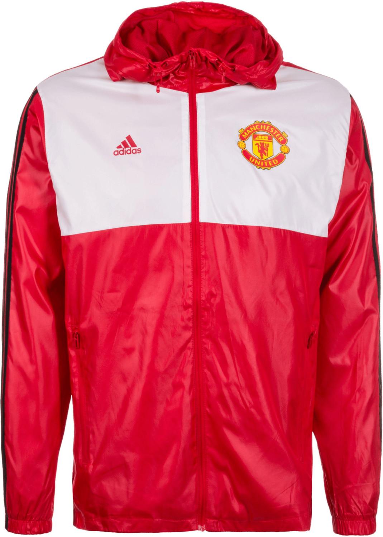 Adidas Manchester United 3S Windbreaker Kapuzen...
