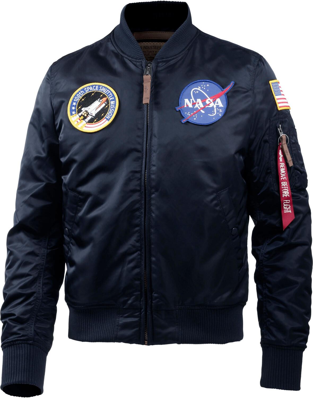 Alpha Industries MA1 VF NASA rep.blue (166107-007)