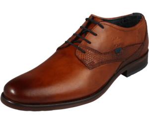 Halbschuhe BUGATTI Braun Leder Textil Herren Schuhe Bugatti