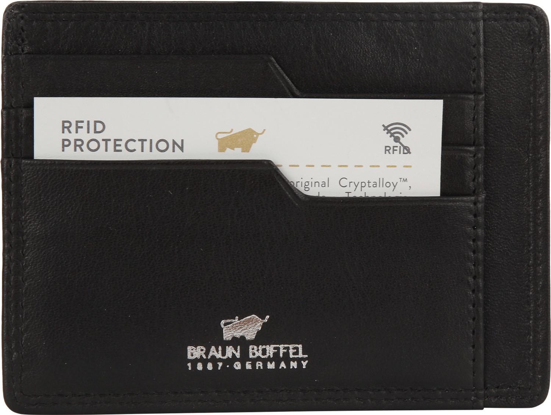Braun Büffel Golf Secure RFID black (90014-051)