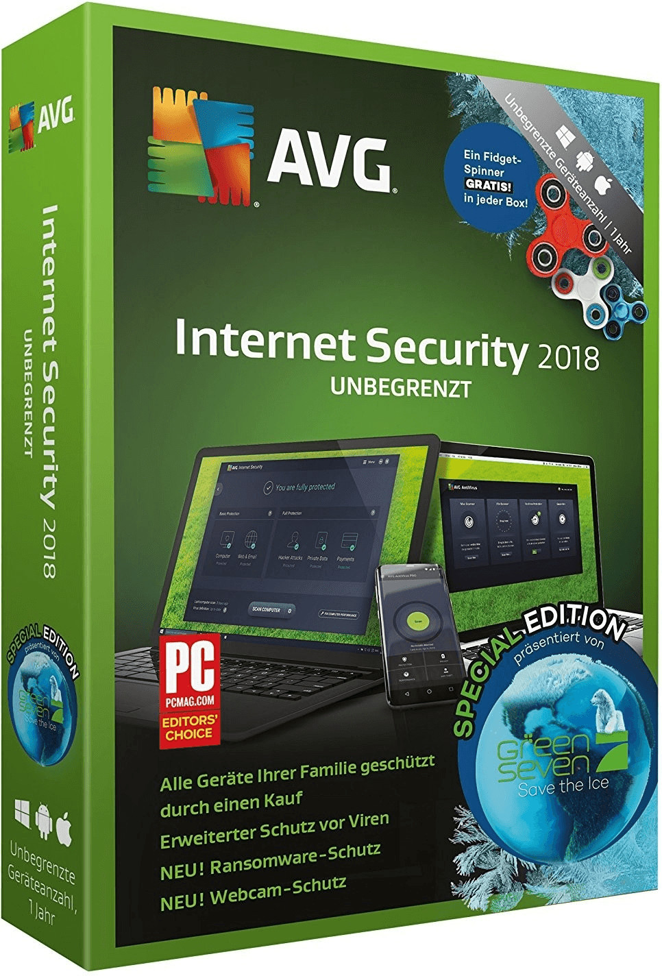Image of AVG Internet Security 2018