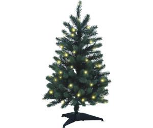 xenotec weihnachtsbaum mit led lichterkette 120cm pe