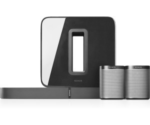 sonos 5 1 heimkino set playbase sub 2x play 1 ab 1. Black Bedroom Furniture Sets. Home Design Ideas