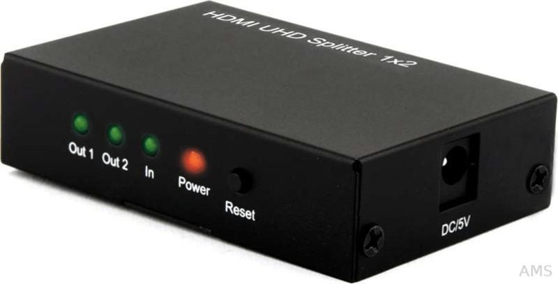 #E+P Elektrik HDMI UHD Splitter 1×2 (4810500)#