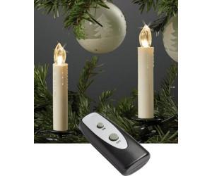 Led Weihnachtsbeleuchtung Kabellos.Hellum Led Weihnachtsbaumkerzen Kabellos 10er Warmweiss Ab 24