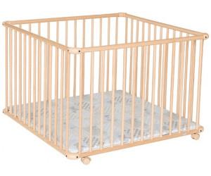 geuther laufgitter belami natur patchwork 004 102 x 102 ab 89 99 preisvergleich bei. Black Bedroom Furniture Sets. Home Design Ideas