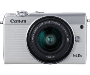 Canon EOS M100 Kit 15-45 mm blanc