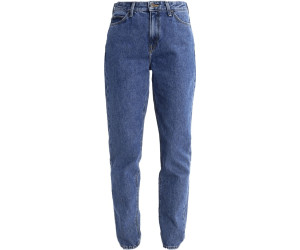 Lee Mom Straight Jeans Tapered Fit Stonewash