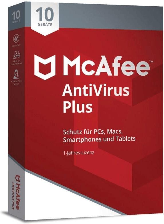 Image of McAfee AntiVirus Plus 2018