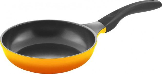 Culinario Bratpfanne 20 cm gelb / schwarz
