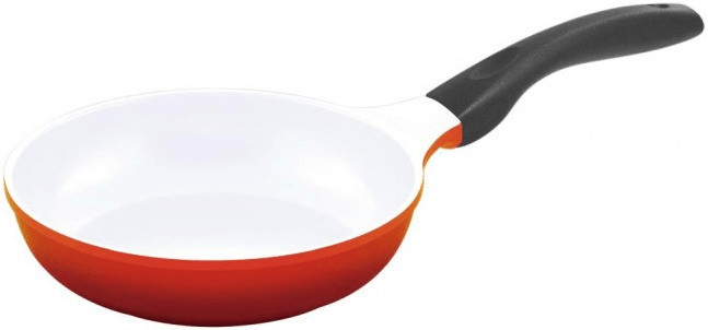 Culinario Bratpfanne 20 cm  rot / weiß