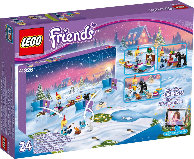 LEGO Calendrier de l'Avent Lego Friends 2017 (41326)