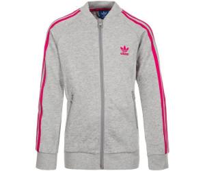 Adidas SST Originals Jacke (BK2022) medium grey heather/bold pink ab 30,56  € | Preisvergleich bei idealo.de