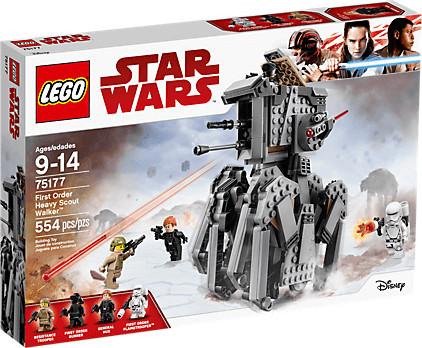 LEGO Star Wars - First Order Heavy Scout Walker (75177)