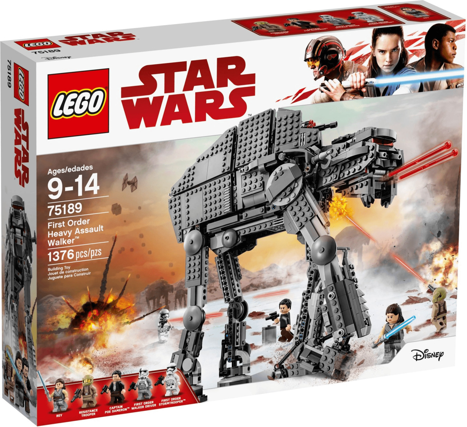 LEGO Star Wars - First Order Heavy Assault Walker (75189)