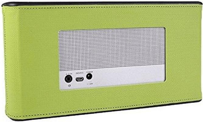 iProtect Bose SoundLink III Kunstleder-Hülle grün
