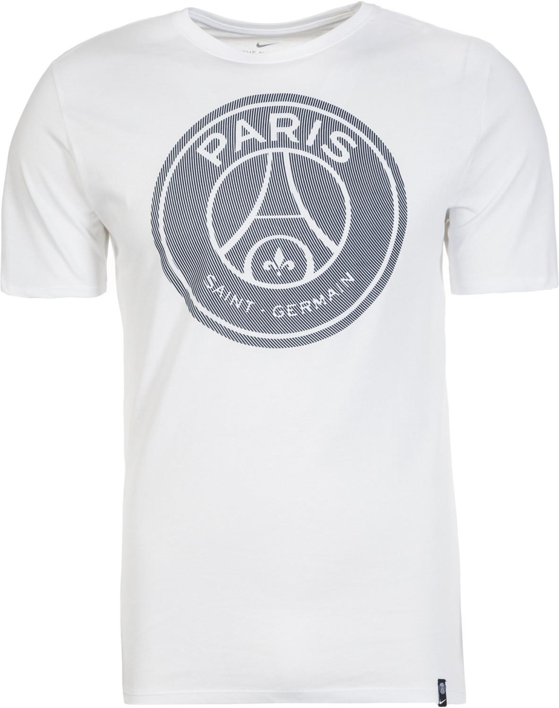 Nike Paris Saint-Germain Crest T-Shirt white