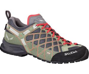 Salewa W Wildfire S Gtx® %SALE 30% Damen Hiking- & Approach-Schuh, Magnet-Hot Coral, Größe 36.5 - Grau