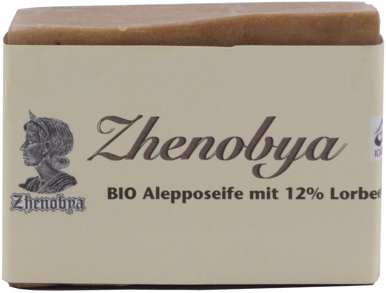 Zhenobya Aleppo-Seife 88% Oliven-/ 12% Lorbeeröl (200g)