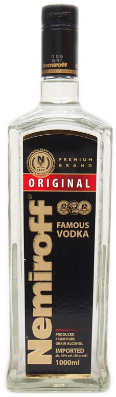 Nemiroff Original Russian Vodka 1l 40%