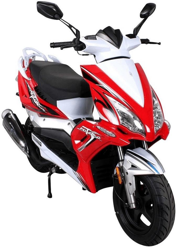 Actionbikes Matador 125 ccm rot/weiß