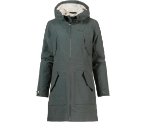 Jack Wolfskin W ROCKY POINT PARKA, Clay