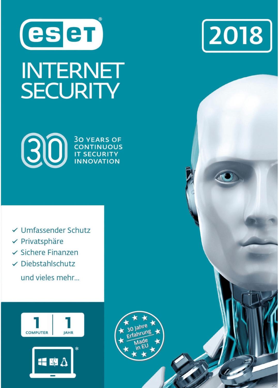 ESET Internet Security 2018 (1 Gerät) (1 Jahr) ...