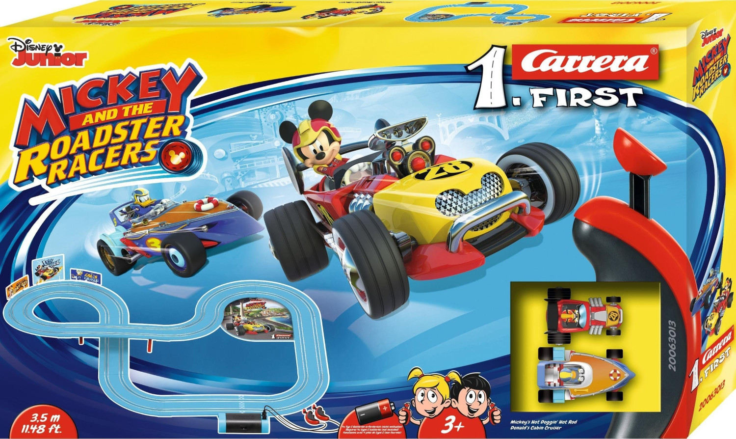 Carrera First Mickey and the Roadster Racers (2...