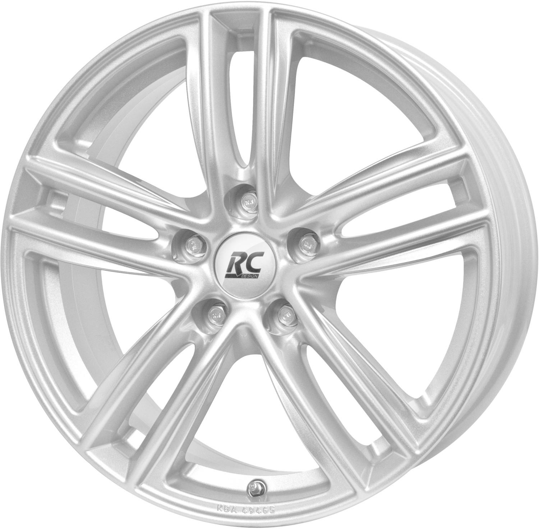 RC Design RC27 (8x18) kristallsilber