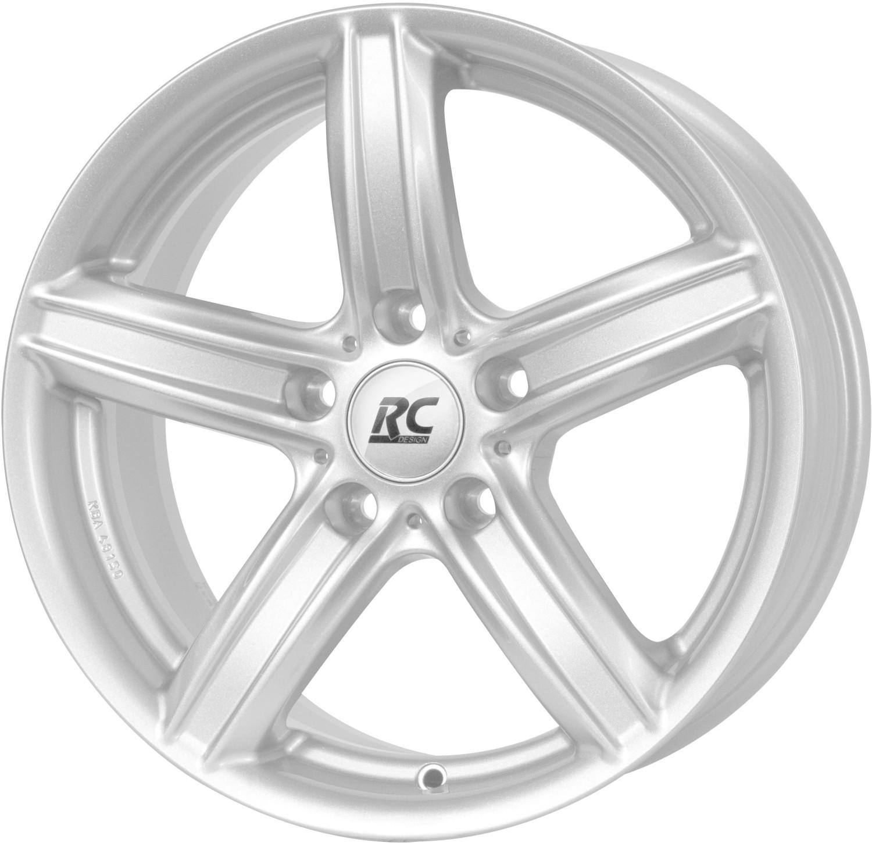 RC Design RC21 (8x18) kristallsilber