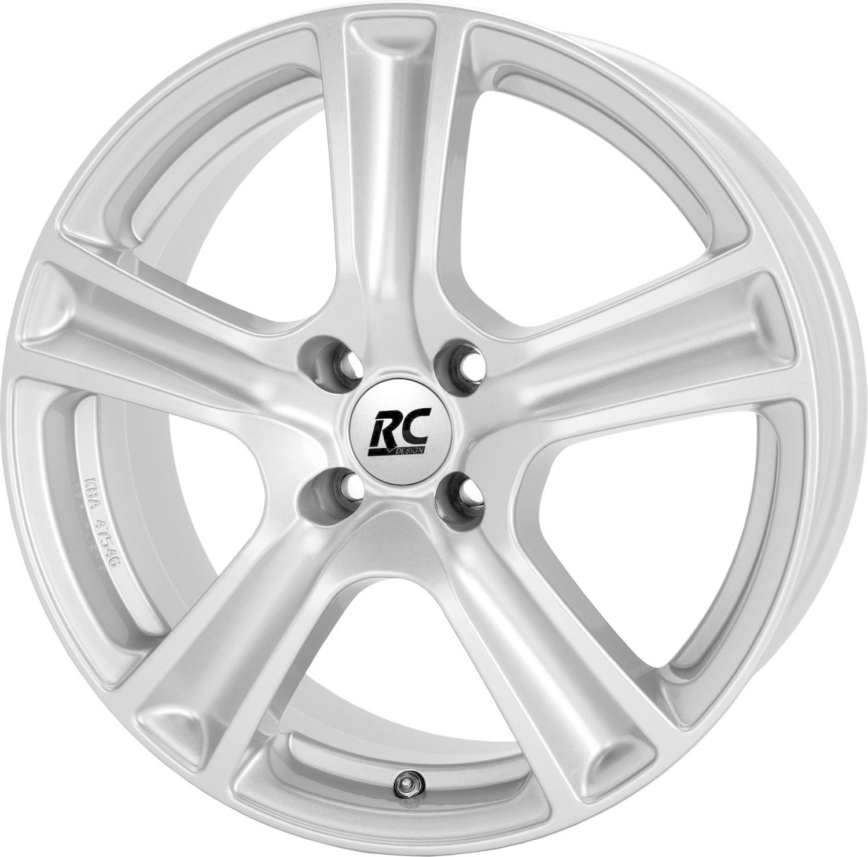 RC Design RC19 (5.5x15) kristallsilber