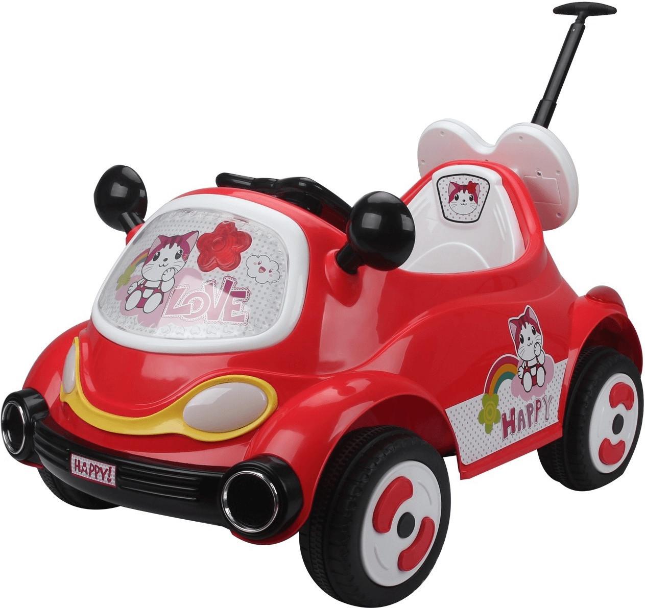 HomCom Kinderauto Elektroauto rot