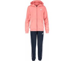 new style exclusive shoes store Adidas Young Girl Trainingsanzug Kinder koralle/dunkelblau ...
