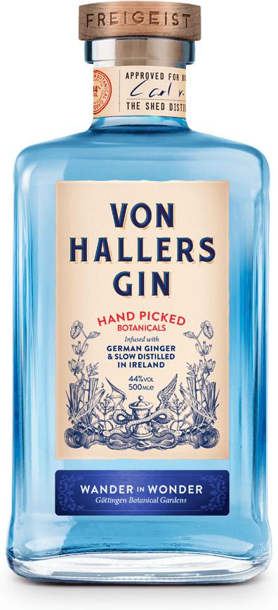 Von Hallers Gin 44% 0,5l