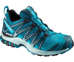 Salomon X Ultra 3 Blau-Schwarz, Damen EU 38 2/3 - Farbe Tahitian Tide-Reflecting Pond-Lime Punch Damen Tahitian Tide - Reflecting Pond - Lime Punch, Größe 38 2/3 - Blau-Schwarz