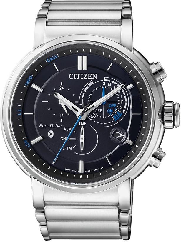 #Citizen Bluetooth Uhr silber#