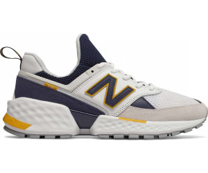new balance 574 navy blue and orange
