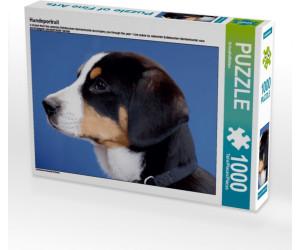Calvendo Hundeportrait 1000 Teile Lege-Größe 64 x 48 cm Foto-Puzzle Bild von CALVENDO