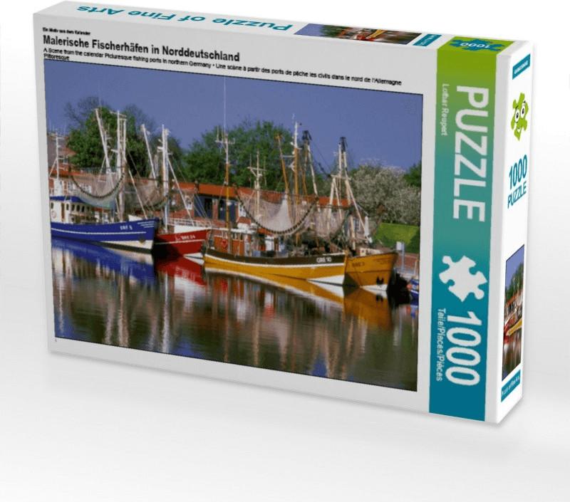 Calvendo Malerische Fischerhäfen in Norddeutsch...