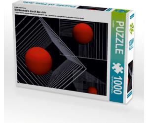 Calvendo Mit Geometrie durch das Jahr 1000 Teile Lege-Größe 64 x 48 cm Foto-Puzzle Bild von CALVENDO
