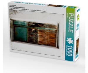 Calvendo Greek Fenster und Türen 1000 Teile Lege-Größe 48 x 64 cm Foto-Puzzle Bild von CALVENDO