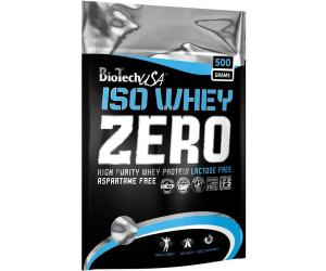 BioTech USA Iso Whey Zero 500g Cocos