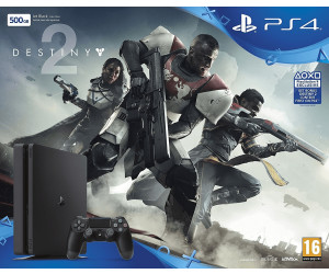 Sony PlayStation 4 (PS4) Slim 500GB + Destiny 2