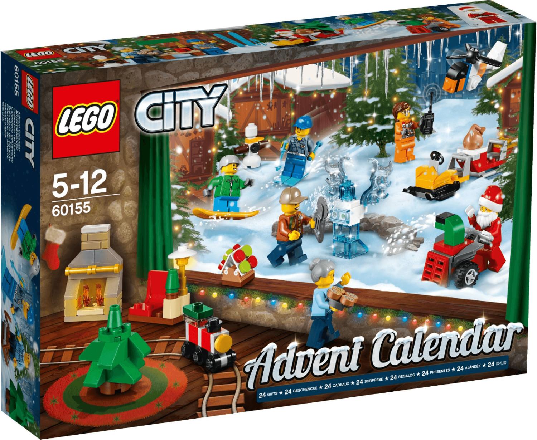 LEGO City - Calendrier de l'Avent 2017 (60155)