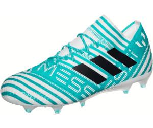 adidas Nemeziz Messi 17.1 FG, Chaussures de Football Homme, Noir (Core Black/Solar Red/Tactile Gold Metallic), 42 2/3 EU