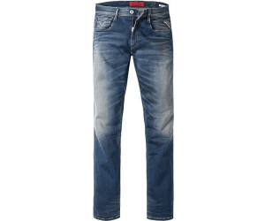 Replay Hyperflex Men/'s Jeans Anbass M914-661-523 Slim Fit Medium Blue