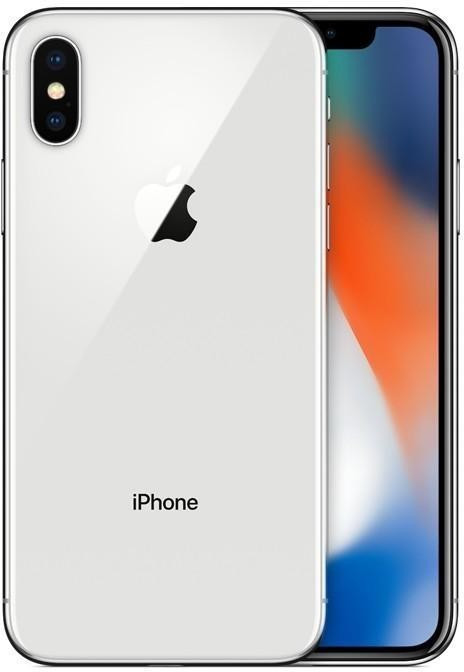 Image of Apple iPhone X 64GB argento